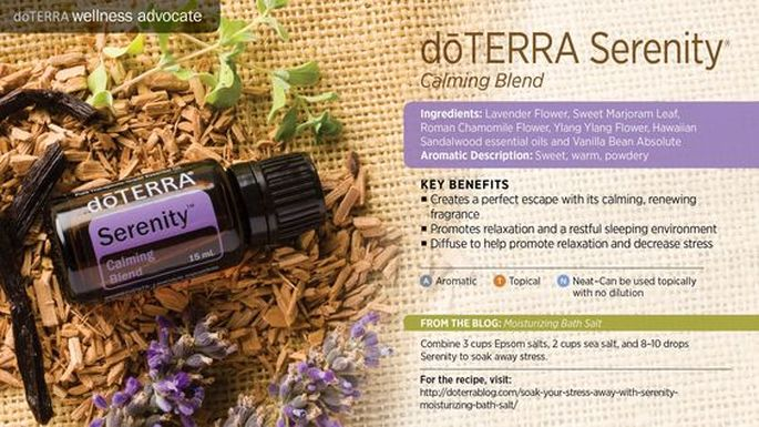 Serenity Restful Blend From Sandy