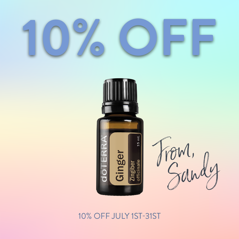 10% Off Ginger, From Sandy