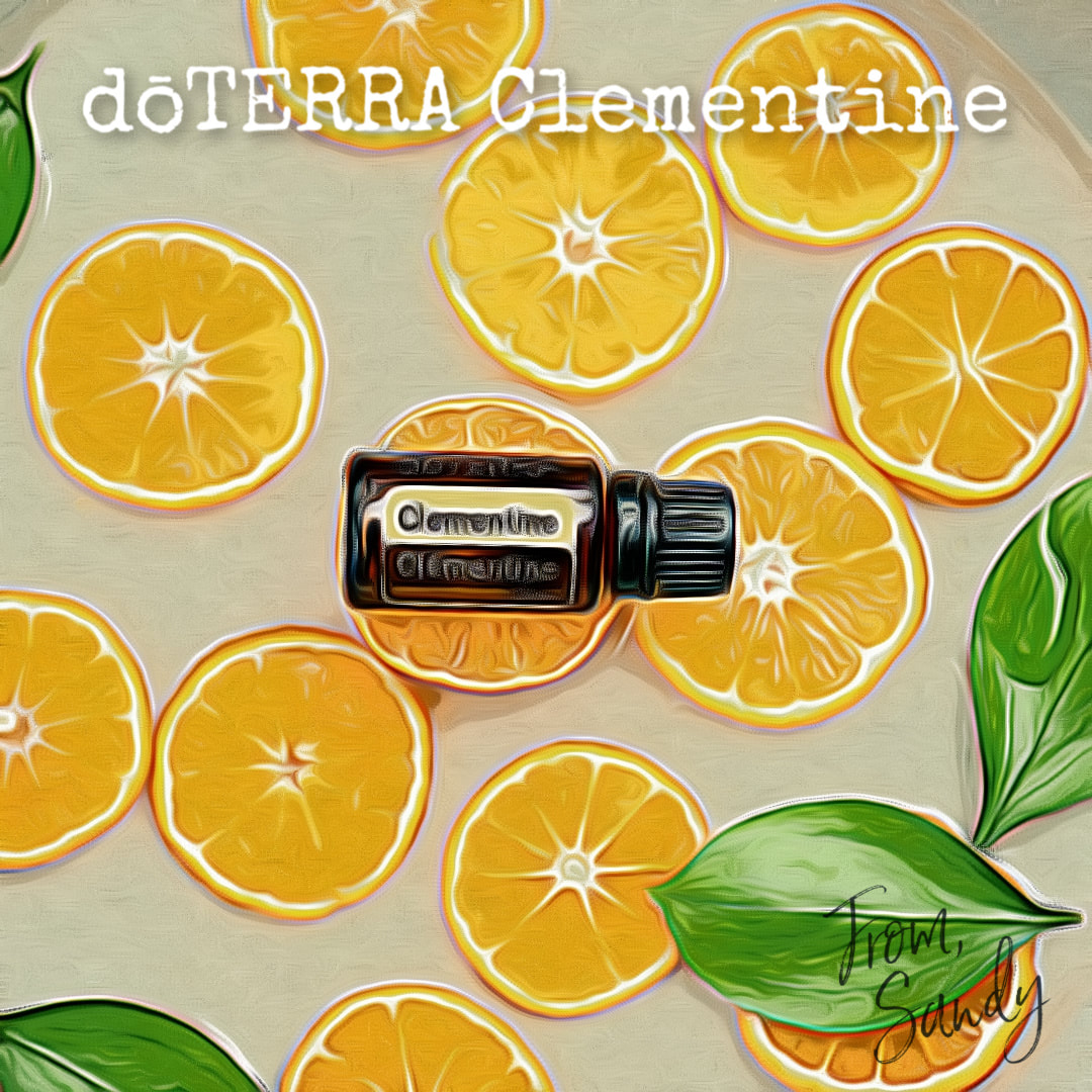 Learn about dōTERRA Clementine Essential Oil, From Sandy