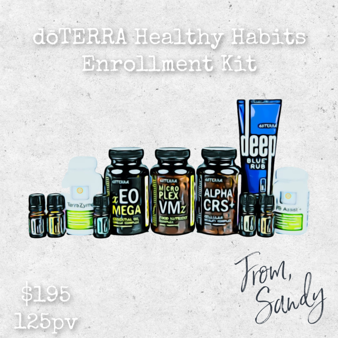 doTERRA Healthy Habits Enrollment Kit, From Sandy