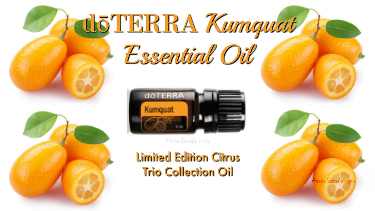 Learn about Kumquat Essential Oil, From Sandy