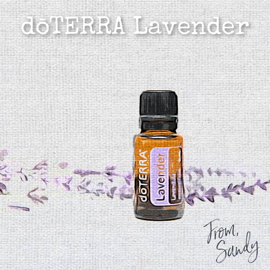 Learn more about Lavender Essential Oil, From Sandy