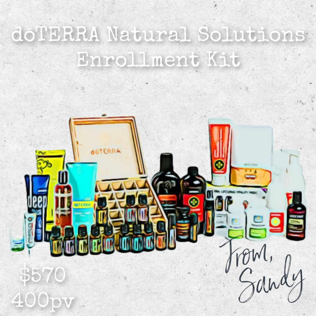doTERRA Natural Solutions Enrollment Kit, From Sandy