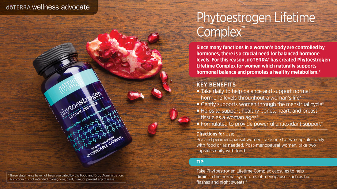 dōTERRA Phytoestrogen Essential Complex, From Sandy
