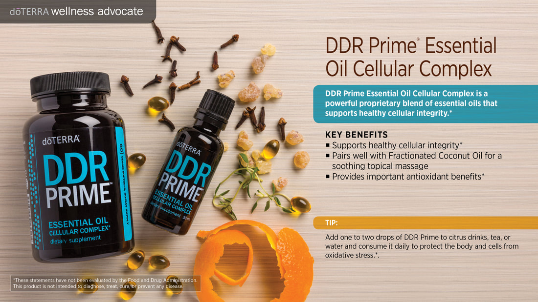 Learn about DDR Prime Essential Oil Cellular Complex Blend, From Sandy