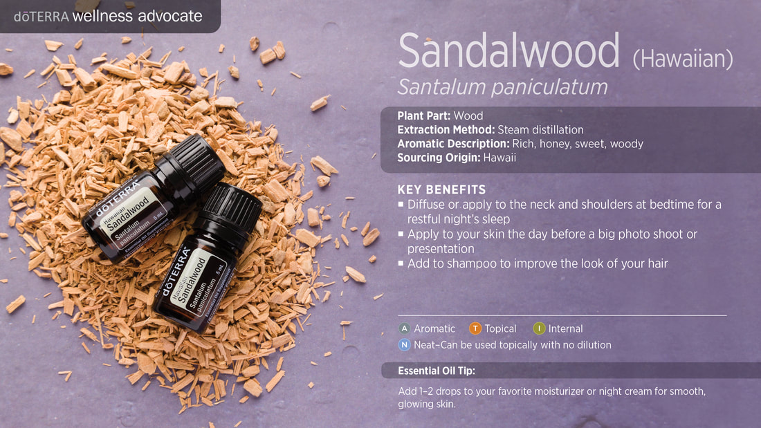Learn about Hawaiian Sandalwood Essential Oil, From Sandy