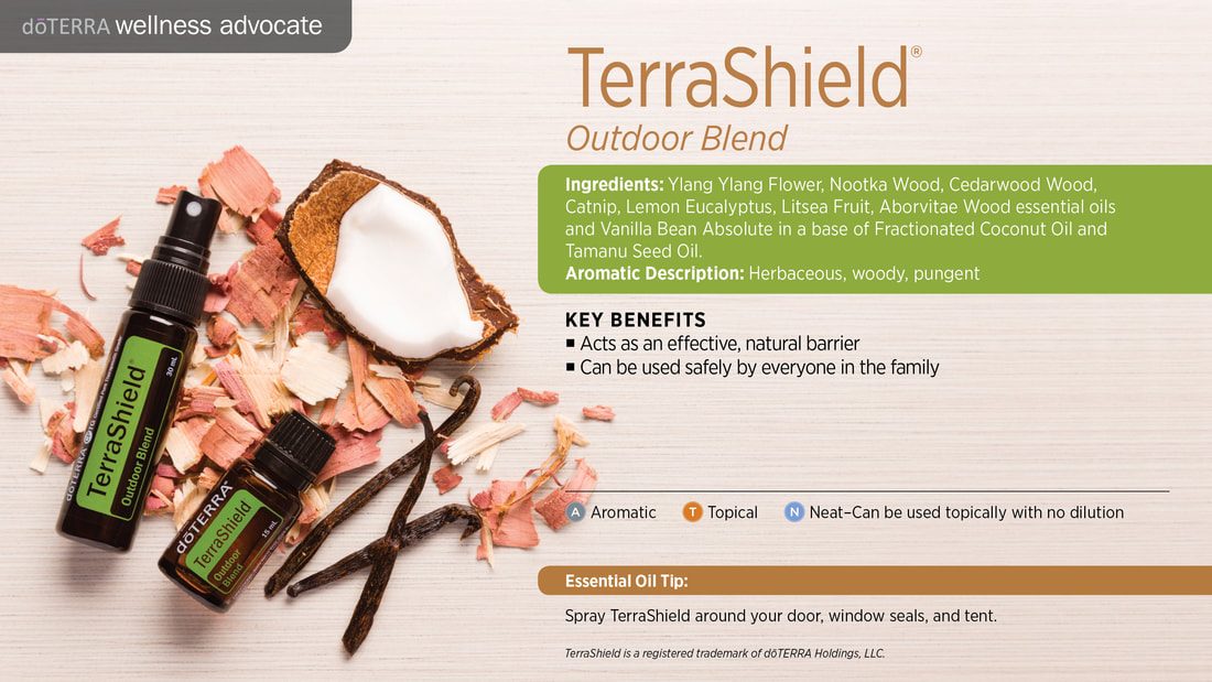 Learn about TerraShield Essential Oil Blend, From Sandy