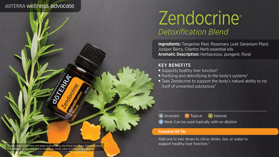 Learn about Zendocrine Essential Oil Blend, From Sandy
