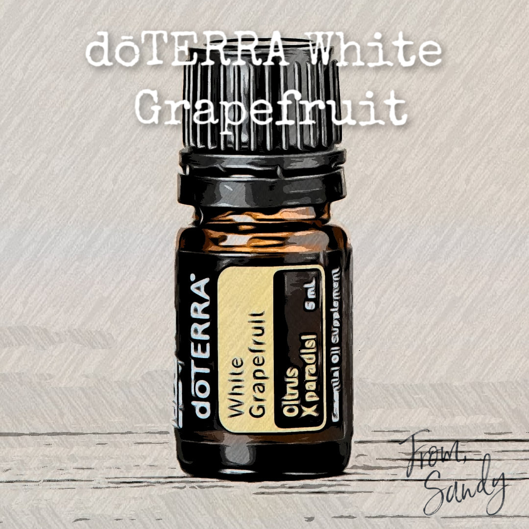Learn about White Grapefruit Essential Oil, From Sandy